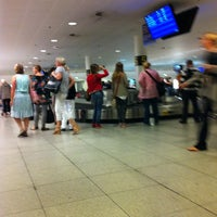 Photo taken at Baggage Reclaim by Petra Charlotte A. on 9/26/2011