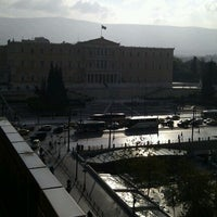 Photo taken at NJV Athens Plaza Hotel by Lazaros P. on 11/4/2011