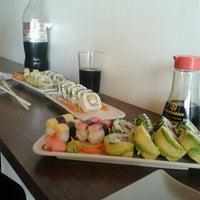 Photo taken at Mikan Sushi Santiago by Carolina R. on 1/27/2012