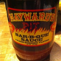Photo taken at Hayward's Pit Bar-B-Que by Mel W. on 2/28/2012