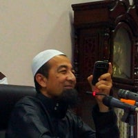 Photo taken at Masjid Al-Ridhuan by Termizi S. on 1/24/2012