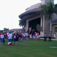 Photo taken at Sunset Cove Amphitheater by Jaselyn R. on 7/4/2012