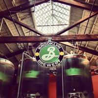 Photo taken at Brooklyn Brewery by elsargentpepper on 8/23/2012
