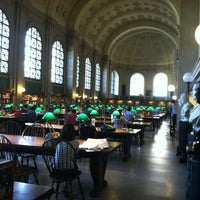 Photo taken at Boston Public Library by Mary A. on 6/14/2012