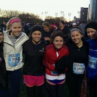 Photo taken at 2011 Hot Chocolate 15k/5k Race by Amy R. on 11/5/2011