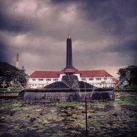 Photo taken at Balai Kota Malang by Muhammad I. on 4/23/2012