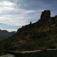 Photo taken at Pinnacle Peak Park by Alex H. on 3/12/2011