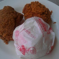 Photo taken at Brooaster Chicken Km 10 by Irsan G. on 9/10/2011