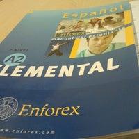 Photo taken at Enforex Salamanca by Juliana C. on 7/19/2012