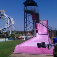 Photo taken at Hawaiian Falls by James K. on 9/4/2012