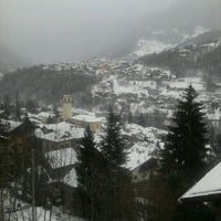 Photo taken at Chiesa In Valmalenco by Giovanna B. on 12/31/2011