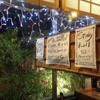 Photo taken at Honda-Ya Japanese Restaurant by Pomme L. on 12/24/2011