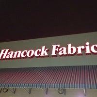 Photo taken at Hancock Fabrics by Michael M. on 3/20/2012