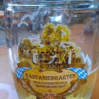 Photo taken at Brauereischenke Kastaniengarten by Dan S. on 6/21/2012