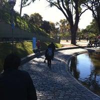 Photo taken at Parque Centenario by Aru S. on 5/13/2012