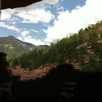 Photo taken at Manitou Cliff Dwellings by Amanda T. on 7/27/2012