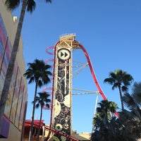 Photo taken at Hollywood Rip Ride Rockit by Mike S. on 9/1/2012