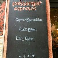 Photo taken at Passenger Espresso by Monica Z. on 5/6/2012