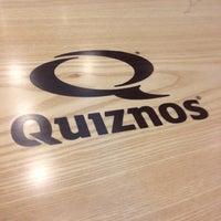 Photo taken at Quiznos Sub by David K. on 2/28/2012
