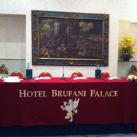 Photo taken at Hotel Brufani by Caterina C. on 4/21/2012