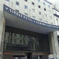 Photo taken at Cirque Royal / Koninklijk Circus by Boris M. on 5/7/2012