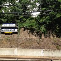 Photo taken at LIRR - Manhasset Station by Pooka P. on 8/29/2012