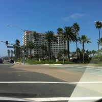 Photo taken at The Waterfront Beach Resort, a Hilton Hotel by Rodrigo M. on 8/27/2012