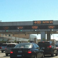Photo taken at Bay Bridge Toll Plaza by Andie A. on 6/30/2012