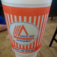 Photo taken at Whataburger by Michelle J. on 4/8/2012