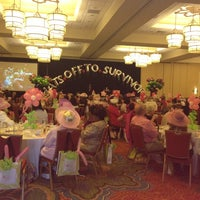 Photo taken at Marriot Crystal Ballroom by Michele S. on 4/15/2012