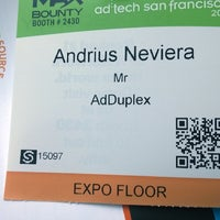 Photo taken at ad:tech San Francisco by Andrius N. on 3/26/2014