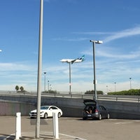 Photo taken at LAX Cell Phone Waiting Lot by Jonathan S. on 10/4/2014