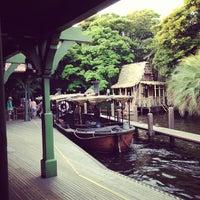 Photo taken at Jungle Cruise by yo0yo0 on 6/17/2013