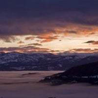 Photo taken at Donner Pass Summit by Dennis L. on 4/15/2013