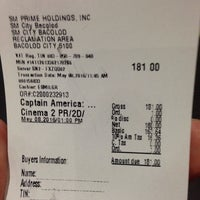 Photo taken at SM Cinema Bacolod by Garry M. on 5/8/2016