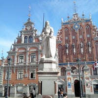 Photo taken at Riga Old Town by Nikita R. on 5/3/2013