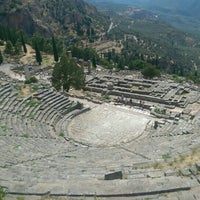 Photo taken at Archaeological Site of Delphi by Peter V. on 8/10/2015