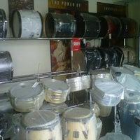 Photo taken at Toko Alat Musik NADA by epet k. on 12/21/2012
