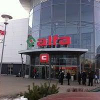 Photo taken at Alfa by Māris L. on 3/29/2013