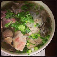 Photo taken at Pho on 6th by Leslie on 7/28/2013