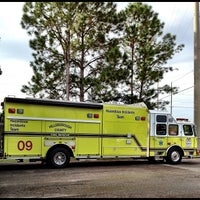 Photo taken at Hillsborough County Fire Station 9 by Anand P. on 10/24/2012