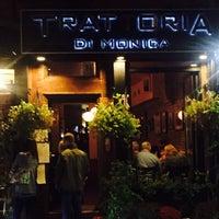 Photo taken at Trattoria di Monica by Michelle T. on 10/9/2016