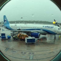 Photo taken at Cancún International Airport (CUN) by Jay A. on 6/3/2013