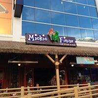 Photo taken at Mickie Finnz Fish House & Bar by Deborah M. on 12/10/2012