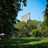 Photo taken at Madison Square Park by Jeffrey Z. on 7/17/2013