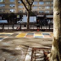Photo taken at Augustus Saint-Gaudens Playground by Jeffrey Z. on 10/9/2013