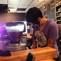 Photo taken at Once Over Coffee Bar by Drew D. on 5/31/2013