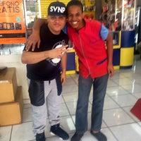 Photo taken at Los Negritos Barber Shop by DJANDY C. on 6/14/2014