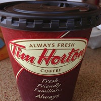 Photo taken at Tim Hortons by Vincent on 7/14/2013