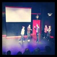 Photo taken at The Peoples Improv Theater by Rob F. on 11/27/2012